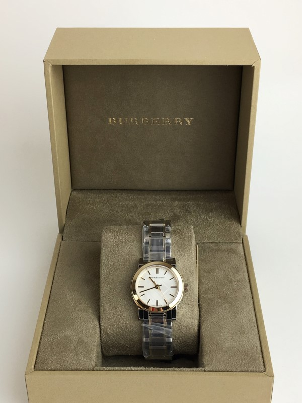 BURBERRY STAINLESS STEEL QUARTZ BU9217 WATCH