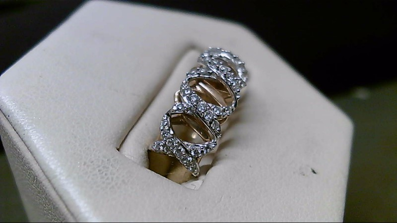 Lady's Diamond Fashion Ring 44 Diamonds .44 Carat T.W. 14K Yellow Gold 3.3g