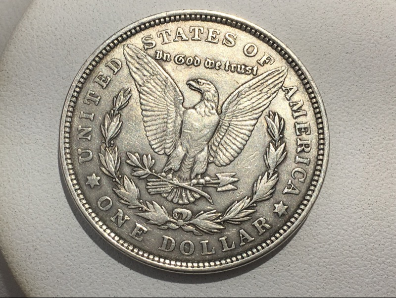 1921 Morgan Silver Dollar - U.S. 90% Silver $1 Coin -