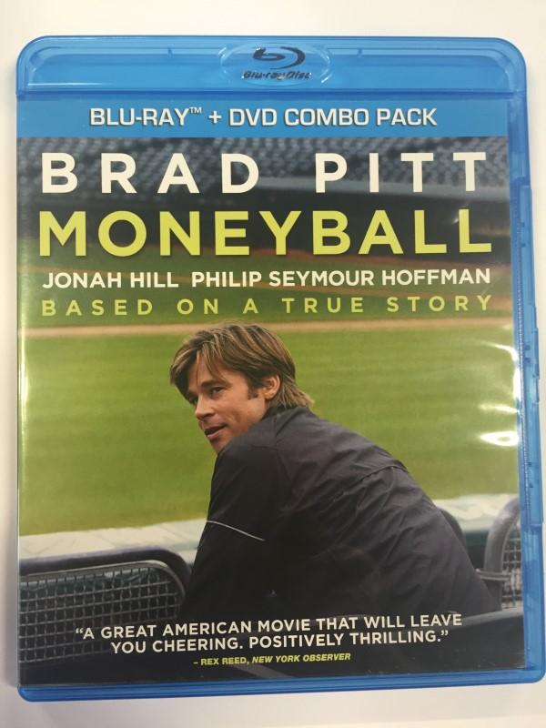 MONEYBALL (BLU-RAY MOVIE ONLY, 2012)