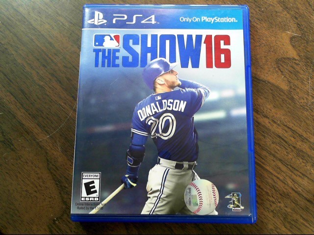 SONY Sony PlayStation 4 Game PS4 THE SHOW 16