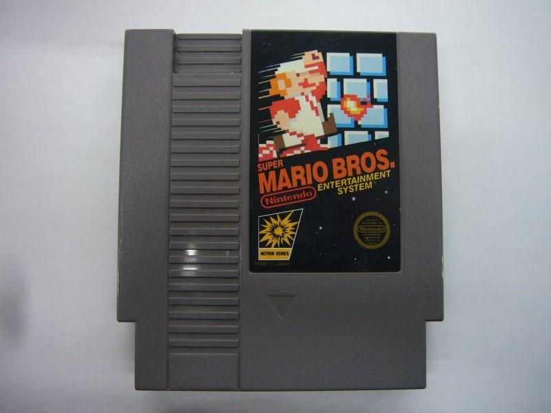 NINTENDO NES Game SUPER MARIO BROS *CARTRIDGE ONLY*