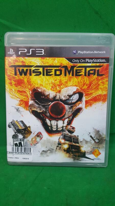 Twisted Metal Sony PlayStation 3 2012