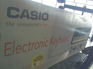 CASIO Keyboards/MIDI Equipment CTK-710