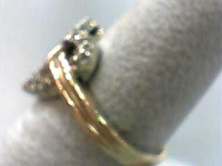 Lady's Diamond Fashion Ring 16 Diamonds .32 Carat T.W. 10K Yellow Gold 3dwt