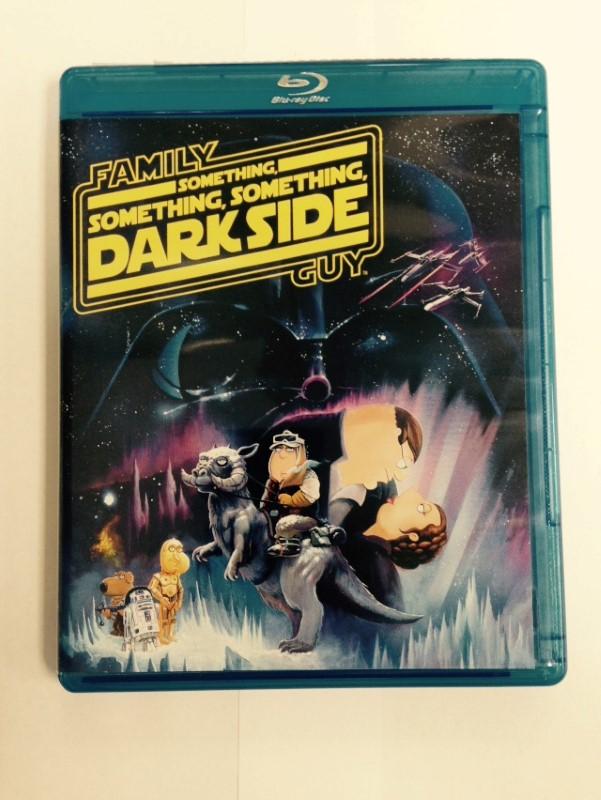 Family Guy: Something Something Dark Side, COMEDY BLU-RAY DVD