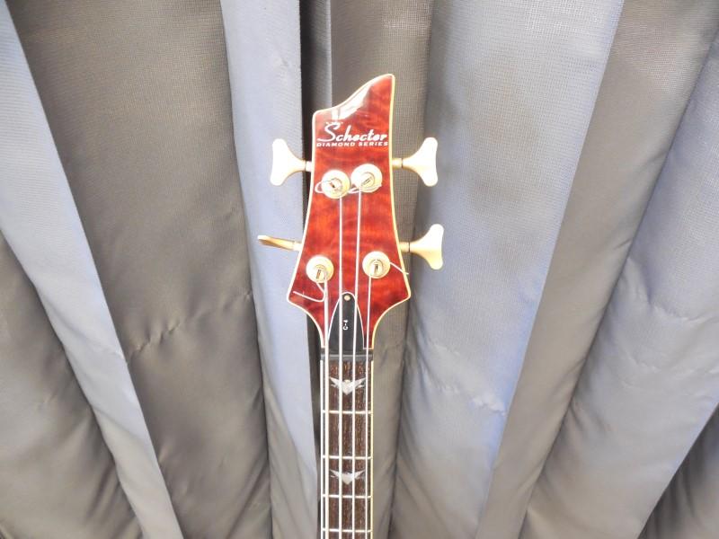 SCHECTER BASS GUITAR CUSTOM-4