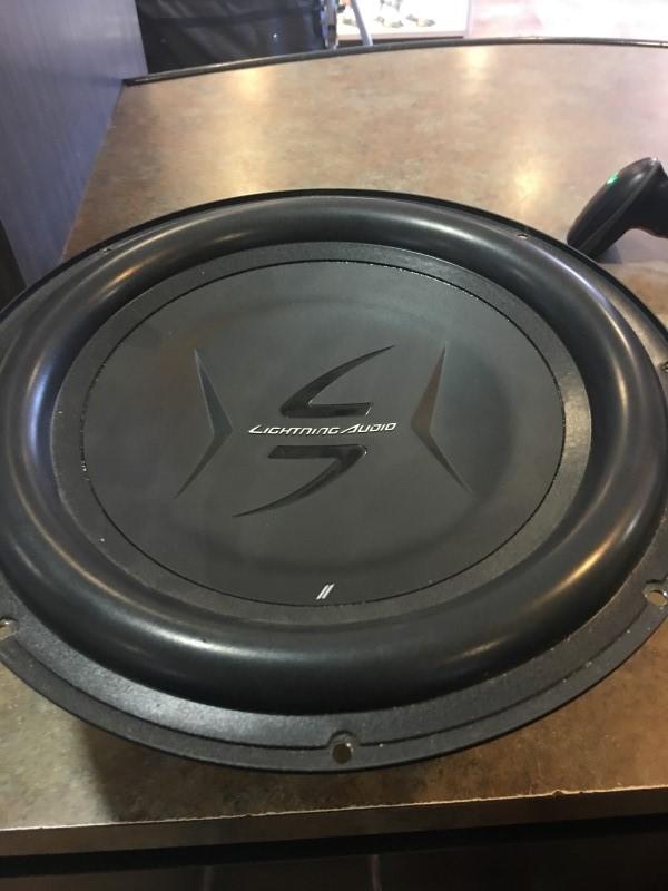 LIGHTNING AUDIO Car Speakers/Speaker System L2-D412