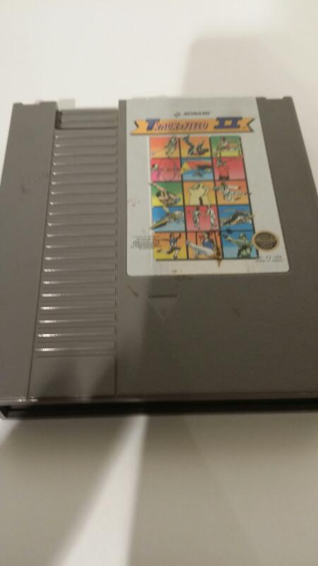 NINTENDO NES GAME TRACK AND FIELD II]