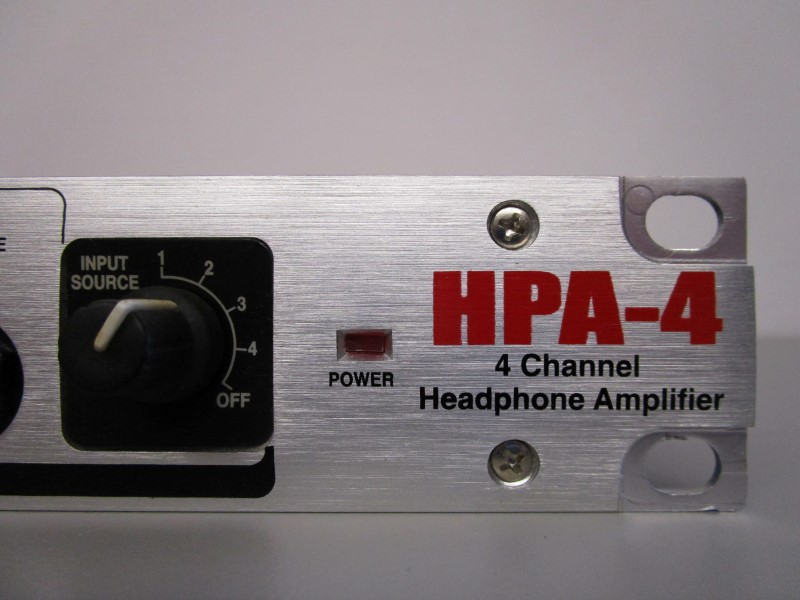 NADY AUDIO HPA-4 4 CHANNEL HEADPHONE / LINE DISTRIBUTOR
