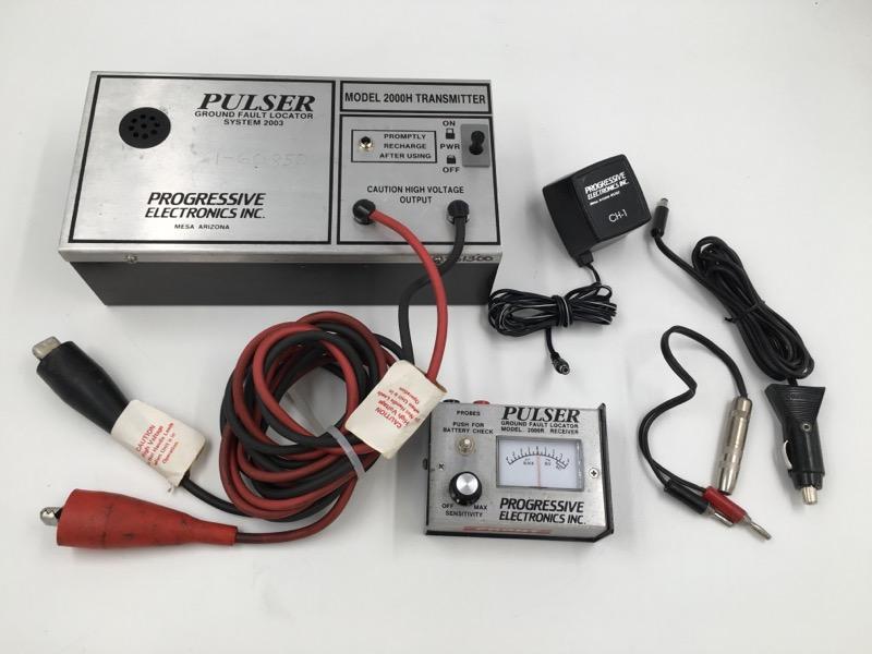 PROGRESSIVE ELECTRONICS PULSER MODEL  2000H GROUND FAULT LOCATOR