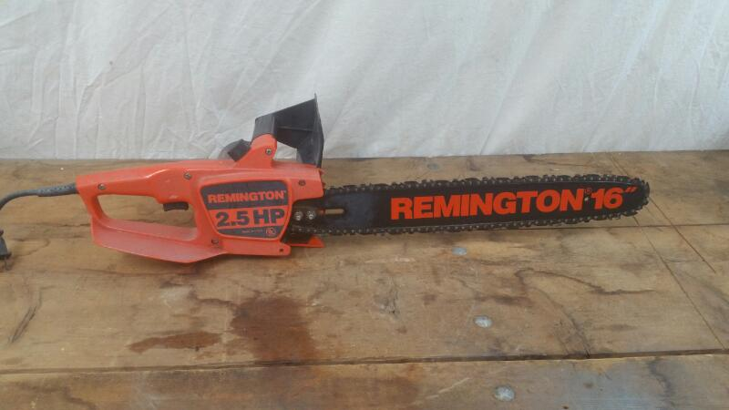 """REMINGTON PRODUCTS Chainsaw 16"""" ELECTRIC CHAINSAW"""