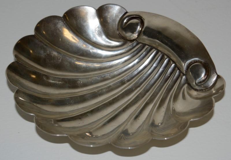 Vintage Sterling Silver Salvador De La Serna Candy Dish - 138.4G