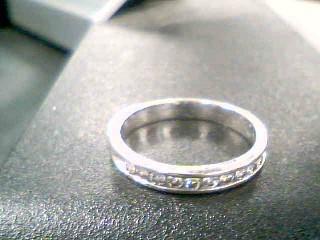 Lady's Diamond Fashion Ring 10 Diamonds .30 Carat T.W. 14K White Gold 2.7g
