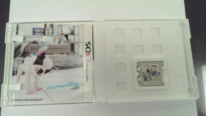 NINTENDO 3DS NINTENDOGS + CATS (FRENCH BULLDOG)