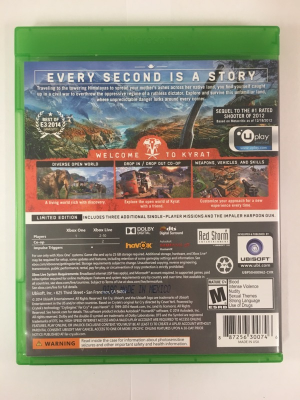 Far Cry 4 for Xbox One