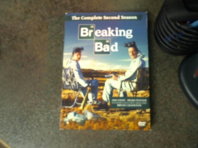 DVD BOX SET DVD BREAKING BAD SEASON 2