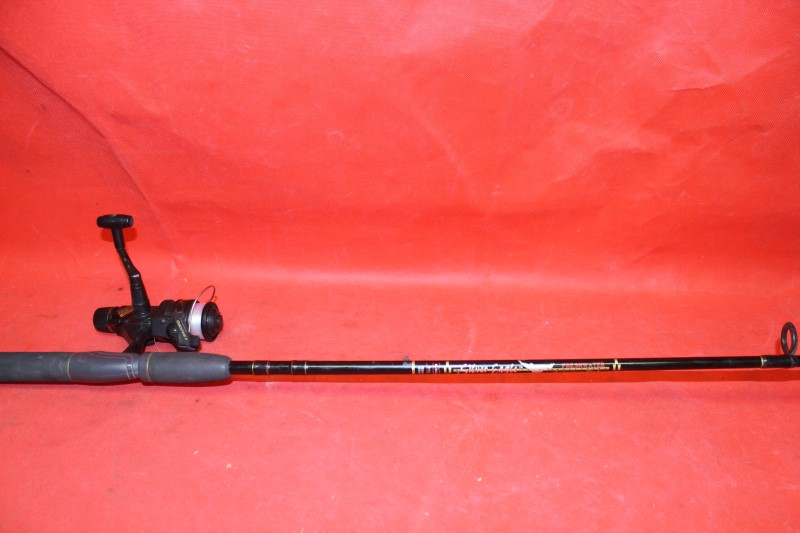 SILVER EAGLE SPINNING ROD