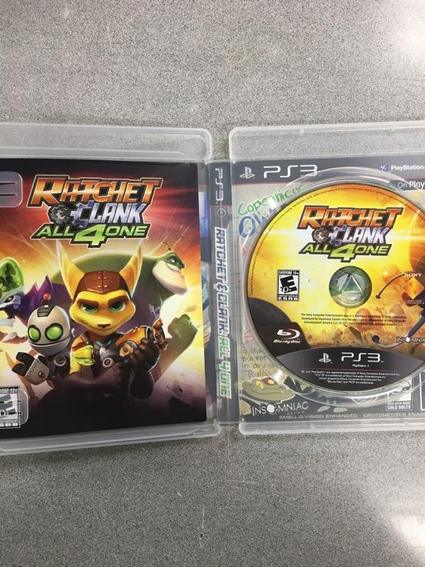 SONY Sony PlayStation 2 Game RATCHET & CLANK