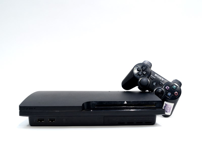 Sony Playstation 3 PS3 Slim 160GB CECH-3001A Charcoal Black Console*