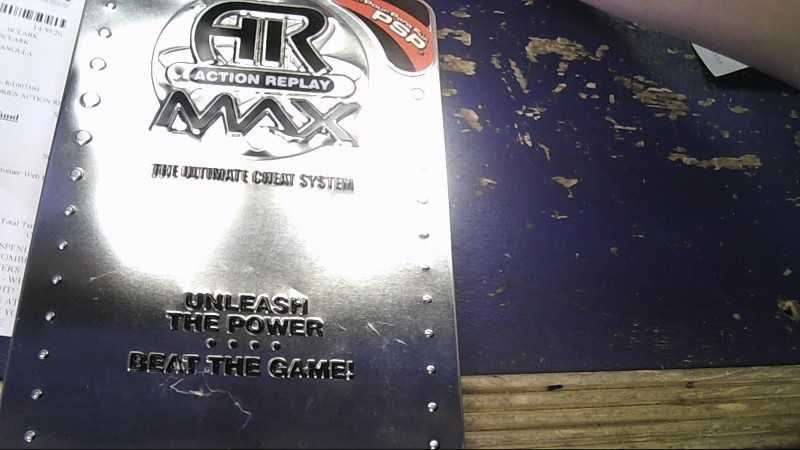AR ACTION REPLAY MAX FOR PSP & PS2