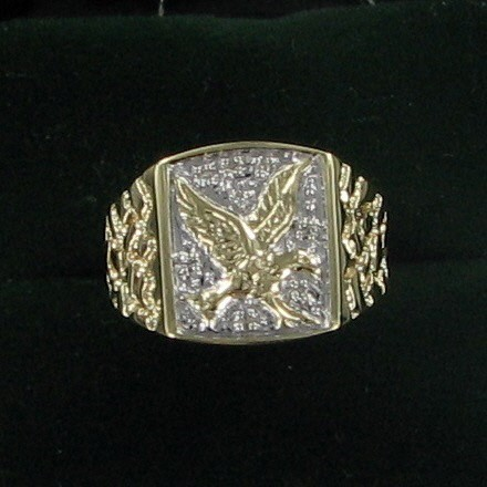 Gent's Gold Ring 10K Yellow Gold 3.7dwt
