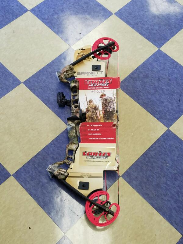 "*NEW* BARNETT VORTEX HUNTER Compound Bow 45-60LBS Weight 26"" - 30"" Draw Length"