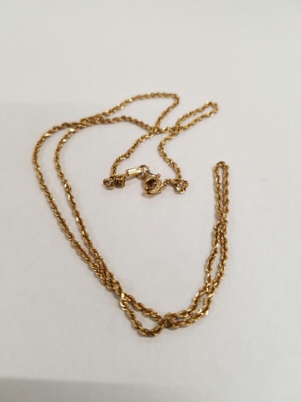 Gold Chain 14K Yellow Gold 3.2g