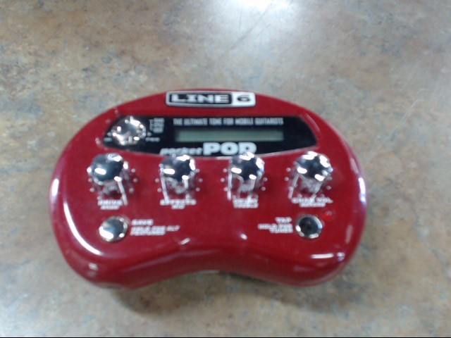 LINE 6 Musical Instruments Part/Accessory POCKETPOD