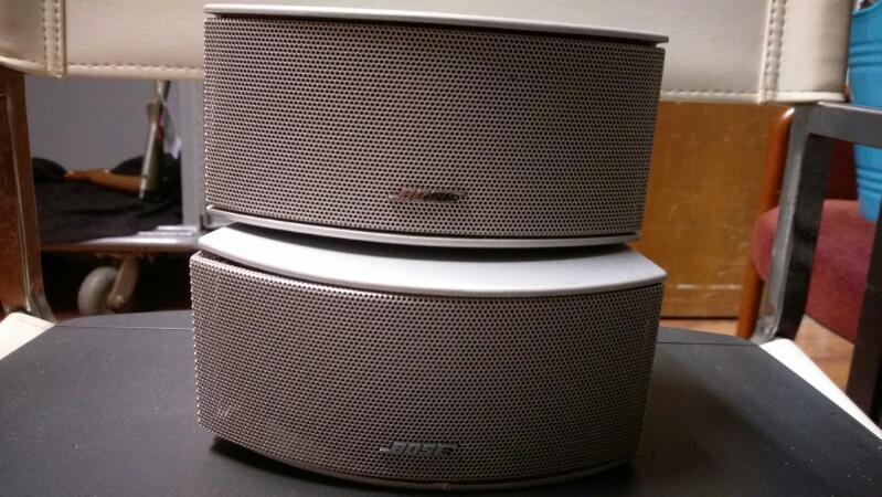 BOSE Mini-Stereo AV3-2-1II MEDIA CENTER
