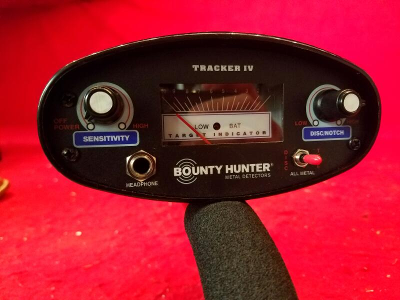 Bounty Hunter Tracker IV Metal Detector