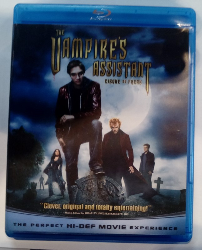BLU-RAY THE VAMPIRE'S ASSISTANT