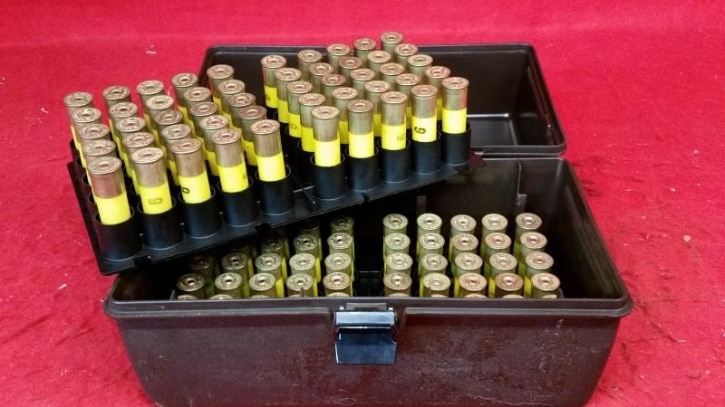 Remington 20ga Ammo - 100 Rounds w/ Case