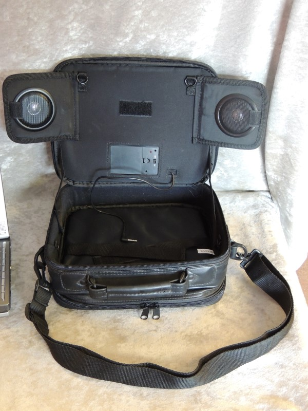 RCA DRC622N 8-in. Portable DVD Player Speakers Case