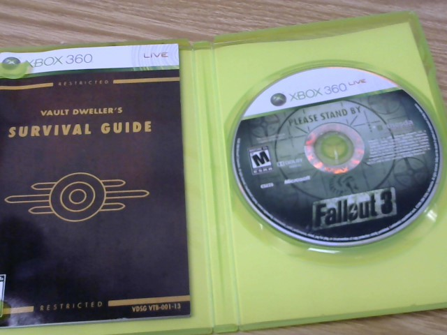 MICROSOFT Microsoft XBOX 360 Game FALLOUT 3 - XBOX 360