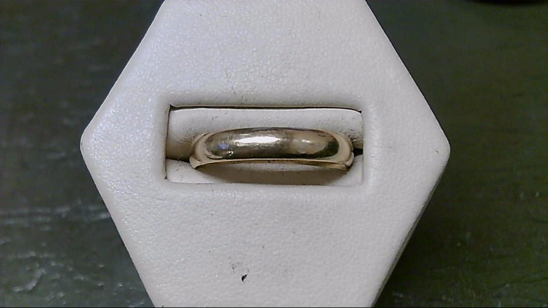 Gent's Gold Wedding Band 10K Yellow Gold 3.6g Size:9