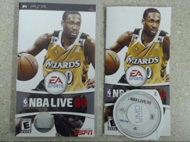 NBA Live 08 (PlayStation Portable - PSP) - Complete