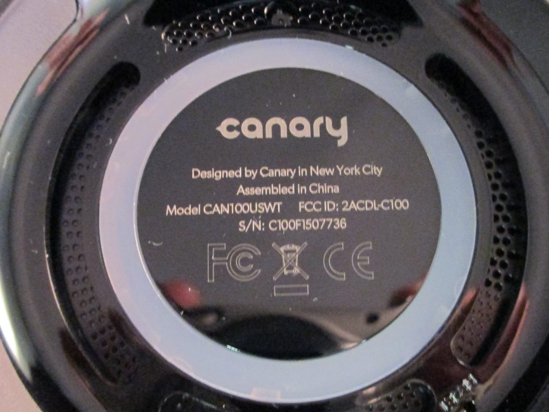 CANARY AUDIO Camcorder CAN100USWT