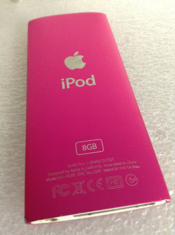 APPLE IPOD IPOD MB735LL/A NANO