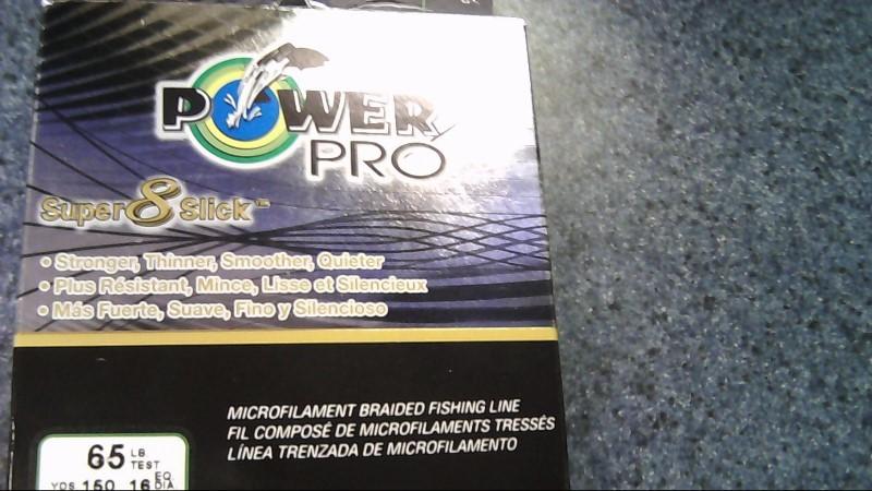 SPECTRA FIBER Fishing Tackle POWER PRO FISHING LINE 65LBS