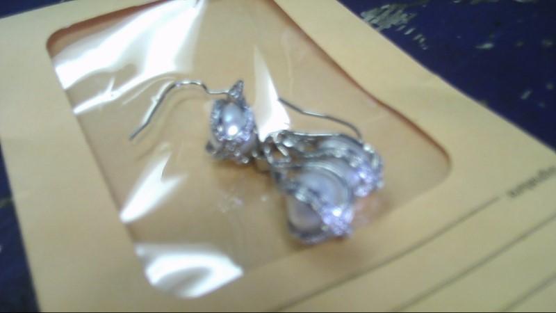Silver Earrings 925 Silver 6.6g & pendant