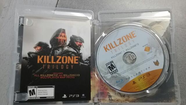 SONY Sony PlayStation 3 Game PS3 KILLZONE TRILOGY