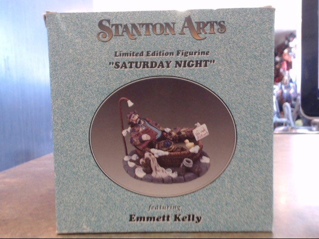 EMMITT KELLY Collectible Plate/Figurine FIGURINES