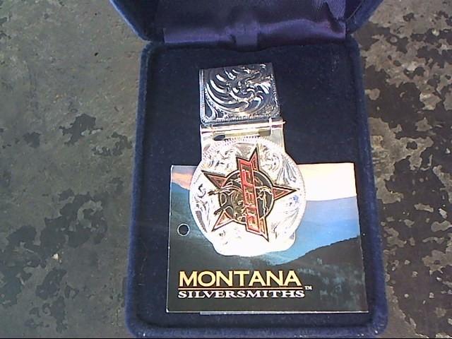MONTANA SILVERSMITHS Men's Accessory MONEY CLIP
