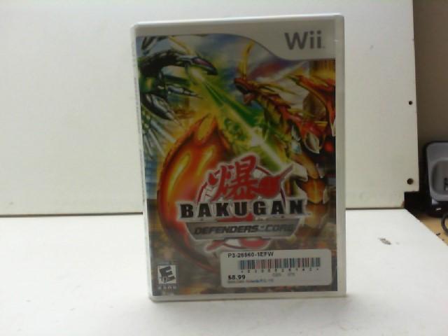 NINTENDO Nintendo Wii Game BAKUGAN DEFENDERS OF THE CORE WII