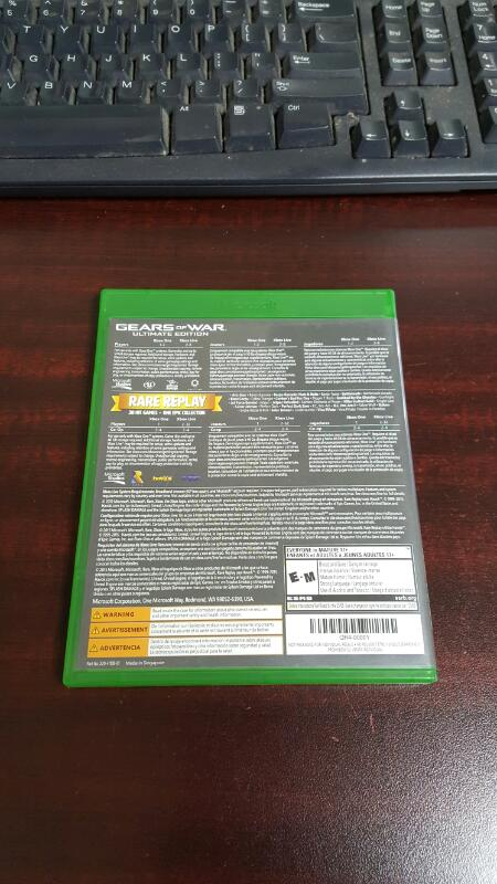 Gears of War Ultimate Edition / Rare Replay - Xbox One
