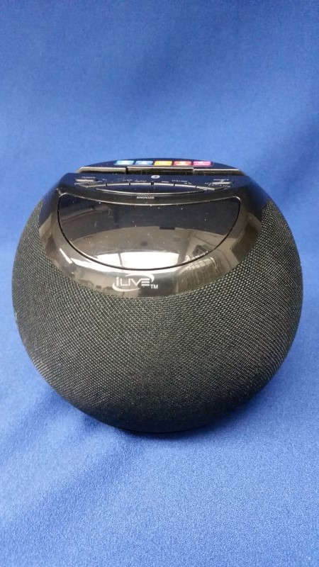 ILIVE SPEAKER W/ CLOCK ICB103B