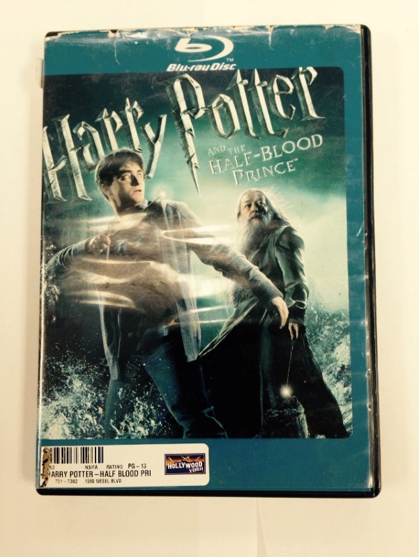 HARRY POTTER AND THE HALF-BLOOD PRINCE (BLU-RAY DISC, 2009)