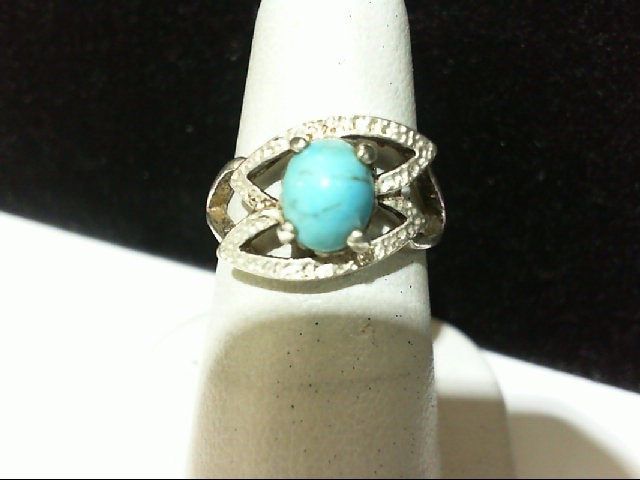 Lady's Silver Ring 925 Silver 3.3g