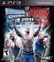 SONY Sony PlayStation 3 Game PS3 SMACK DOWN VS RAW 2011